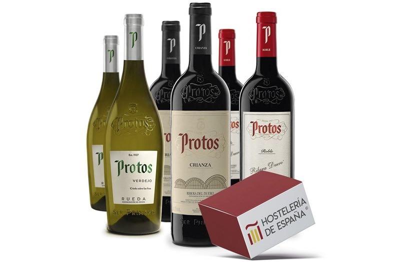 Protos lanza una caja solidaria para apoyar al sector hostelero