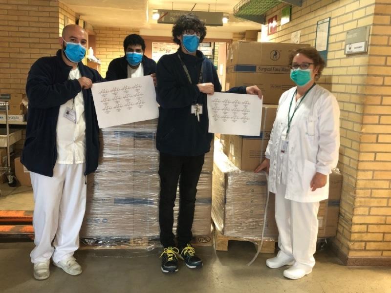 Familia Torres apoya la lucha contra el coronavirus con material sanitario y tecnología