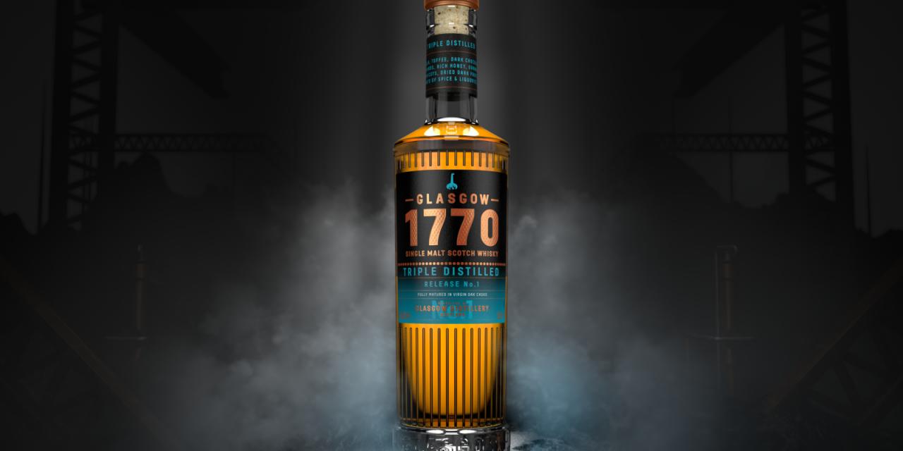 Glasgow Distillery lanza el último whisky de la gama Signature, Glasgow Distillery's 1770 Single Malt Triple Distilled – Release No.1