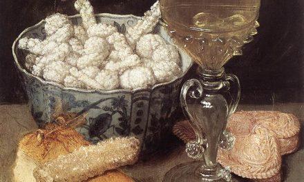 """""""Bodegón con pan y dulces"""" (primera parte del siglo XVII), de Georg Flegel"""