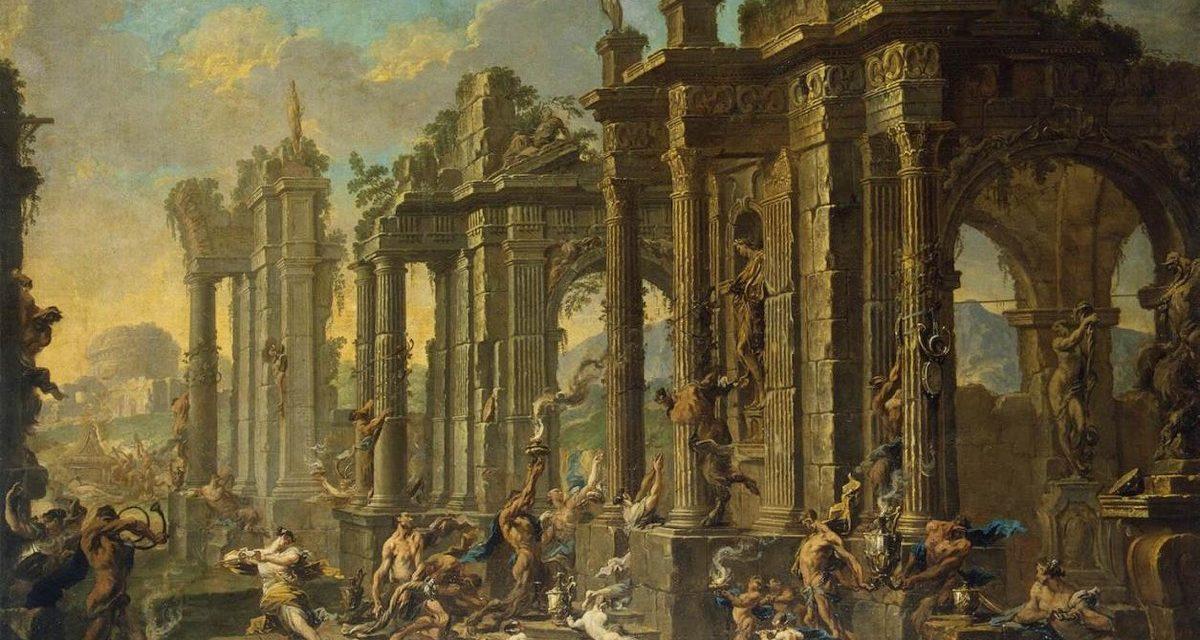 """Escena bacanal"" (1710), de Alessandro Magnasco"