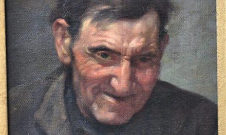 """Borracho"" (mitad siglo XX), de Eduardo Fló"