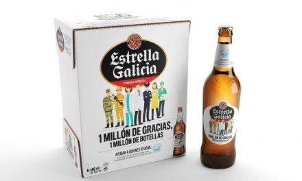 Estrella Galicia saca edición especial en apoyo a los Bancos de Alimentos