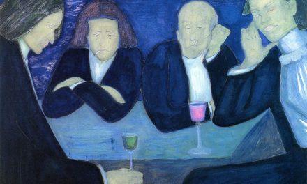 """""""El Ateneo – En el Café"""" (1914), de Marianne von Werefkin"""