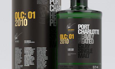 Bruichladdich presenta el nuevo whisky Port Charlotte OLC: 01 2010