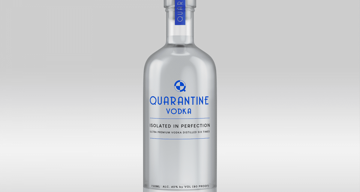 Quarantine Vodka, nuevo vodka ultra-premium de Quarantine Spirits