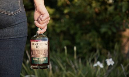 Templeton Rye presenta el whisky The 2020 Templeton Rye Barrel Strength straight rye whiskey