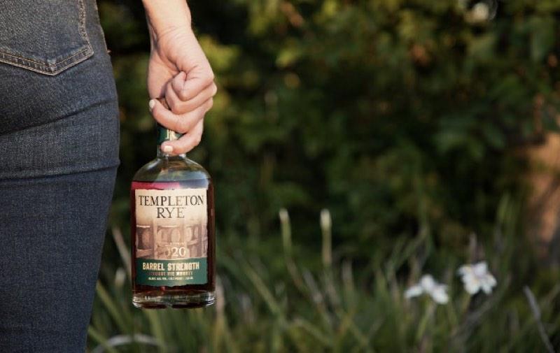 Templeton Rye presenta el whisky The 2020 Templeton Rye Barrel Strength straight rye whiskey