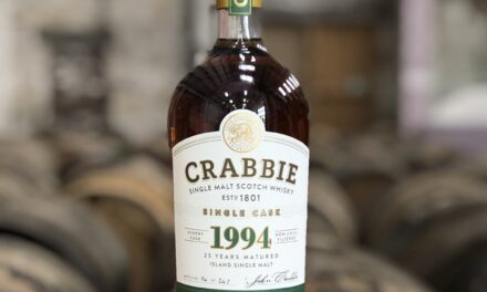 John Crabbie & Co. presenta un single malt de 25 años de edad, The Crabbie 1994
