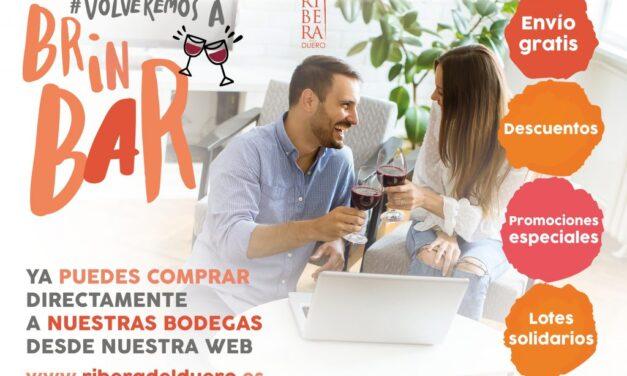 Rostros del mundo del cine, la música y la gastronomía se suman a la campaña #VolveremosABrinBAR, de Ribera del Duero