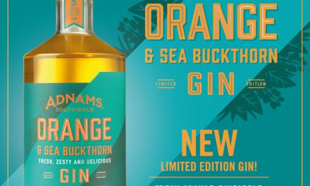 Adnams Orange y Sea Buckthorn Gin lanzan una edición limitada de vuelta