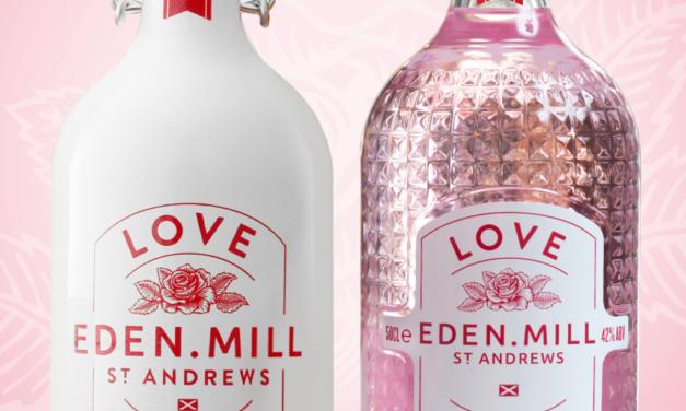 El nuevo envase de vidrio de Croxsons para Eden Mill Love Gin ayuda a duplicar las ventas en línea