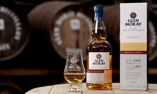 Glen Moray madura malta simple en barriles de Madeira con Glen Moray Madeira Cask Project