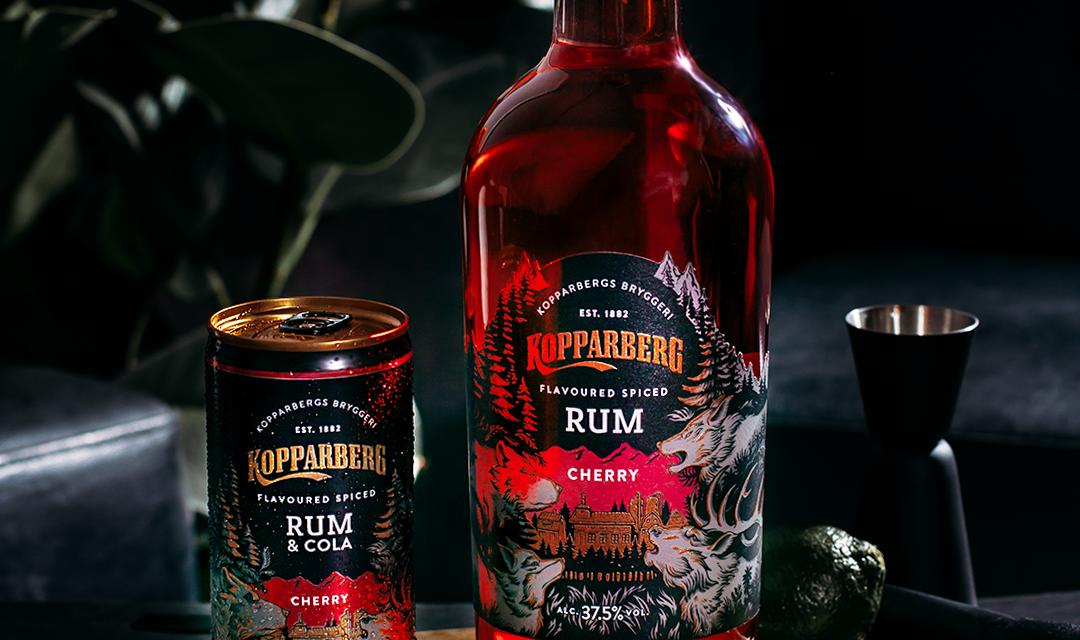 Kopparberg se mueve hacia el ron con Kopparberg Cherry Spiced Rum