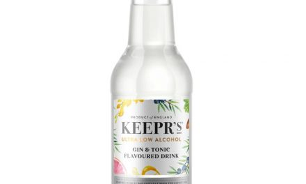 British Honey Co crea G&T embotellado de bajo ABV, Keepr's ultra-low-alcohol G&T
