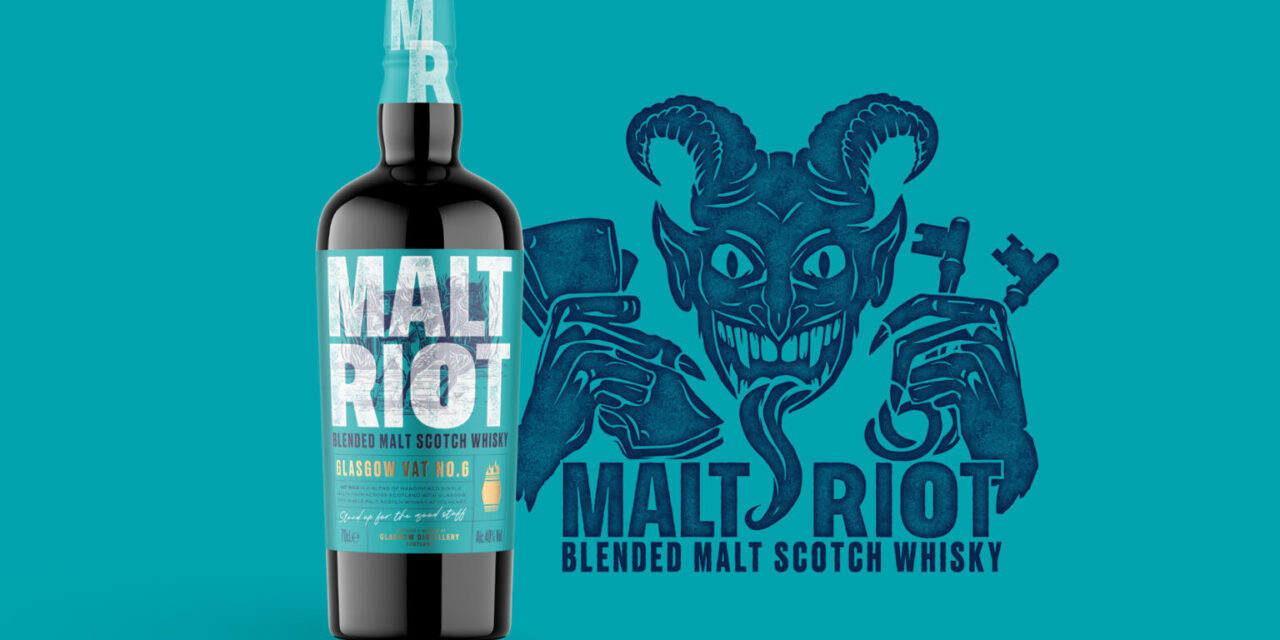 The Glasgow Distillery lanza el whisky Malt Riot