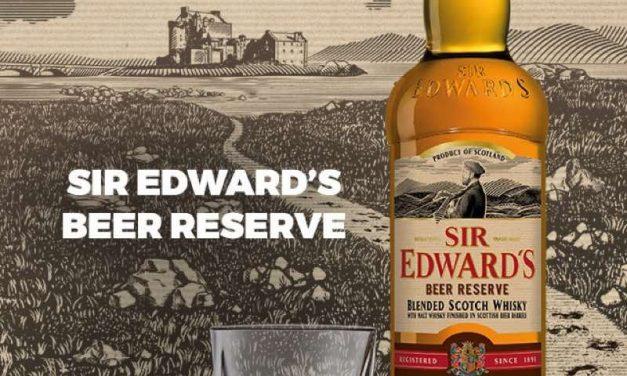 Sir Edward's Beer Reserve se une a la gama de whisky en La Martiniquaise-Bardinet