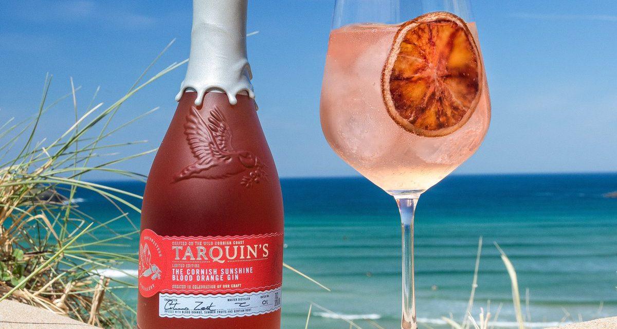 Tarquin's se apunta a la tendencia de Spritz con Tarquin's Cornish Sunshine Blood Orange Gin