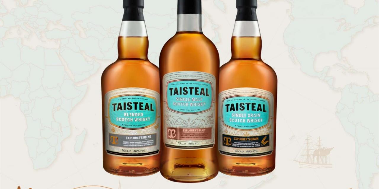 Taisteal añade dos whiskies a Explorer's Scotch Series