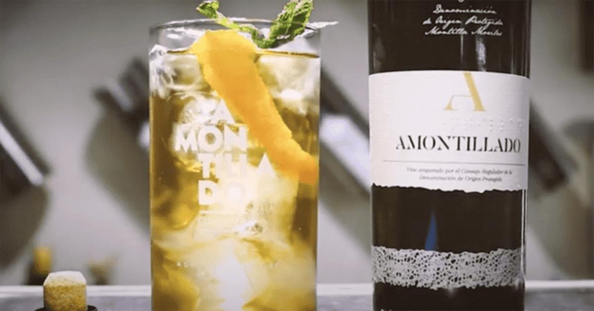 Amontillado Ginger, cóctel más refrescante del verano por Montilla-Moriles