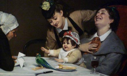 """""""Juerguistas"""" (1870), de Charles Émile Auguste Durand"""