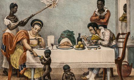 """Familia brasileña en Rio"" (1812), de Jean-Baptiste Debret"
