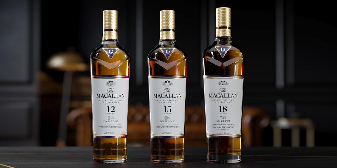 Macallan amplía la gama de whisky Double Cask con Double Cask 15 Years Old y Double Cask 18 Years Old