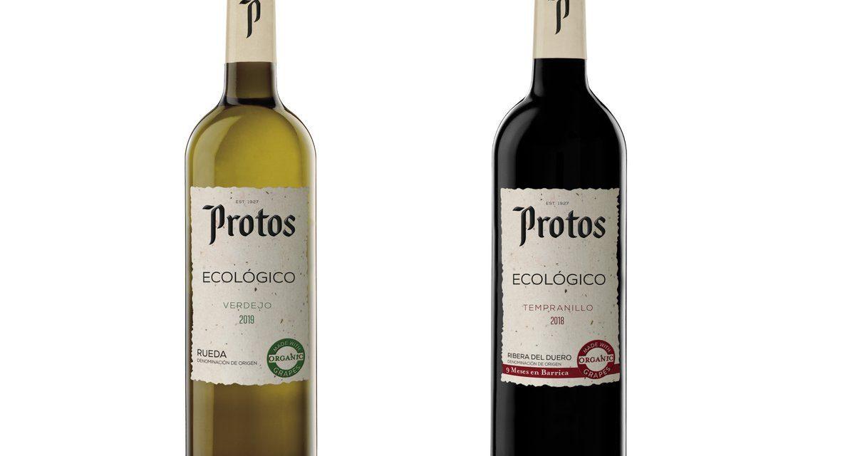 Llegan al mercado Protos Tempranillo ecológico 2018 y Protos Verdejo ecológico 2019, los primeros vinos ecológicos de Bodegas Protos