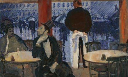 """""""Restaurante parisino"""" (1905), de Albert Weisgerber"""