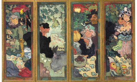 """Les delices de la vie"" (1892), de Armand Seguin"