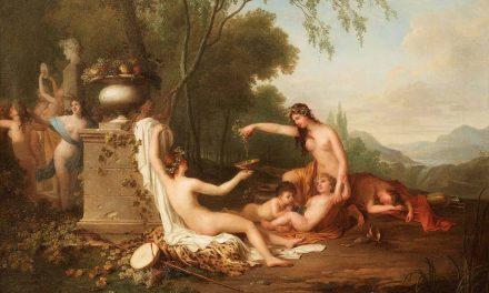 """""""Bacanal"""" (1797), de Augustin van den Berghe"""