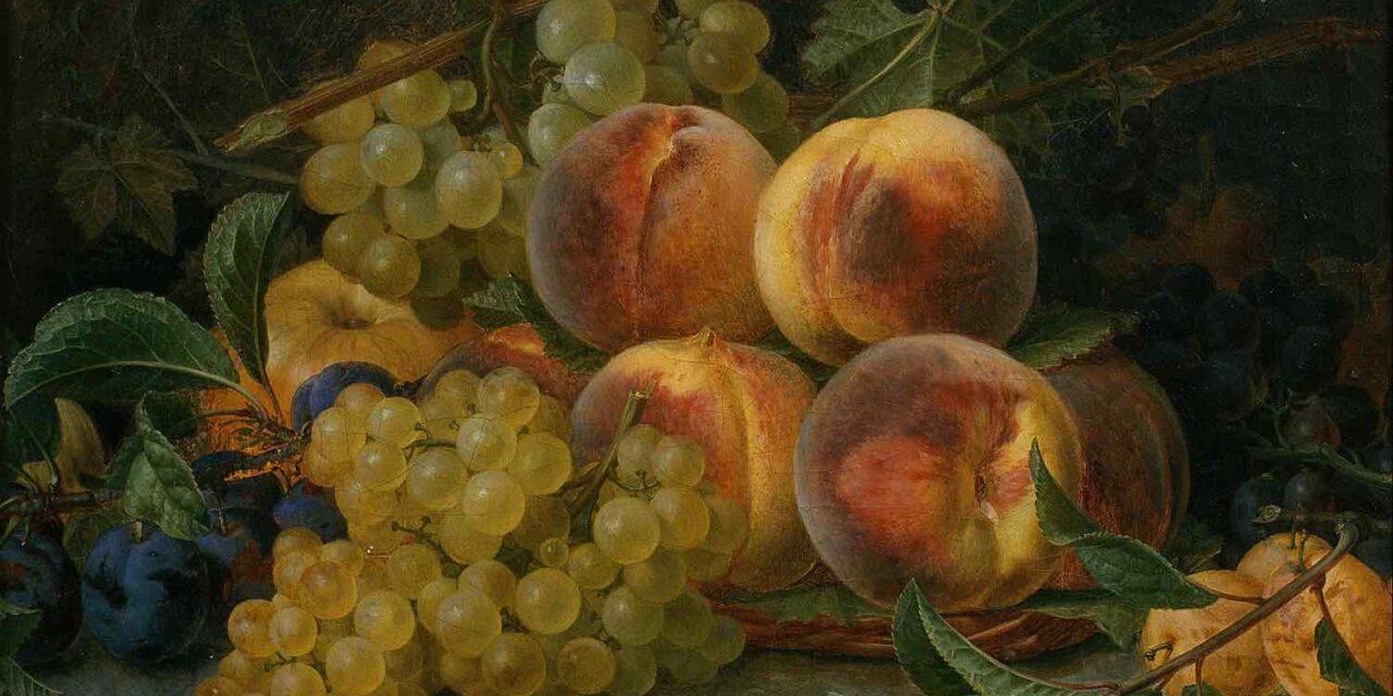 """""""Bodegón con uvas"""" (1814), de Francisco Lacoma y Fontanet"""