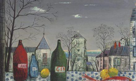 """""""Bodegón con ginebra"""" (1951), de Fred Uhlman"""