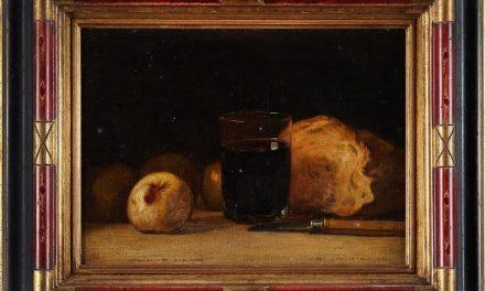 """Bodegón"" (1853), de Jean-Baptiste Achille Zo"
