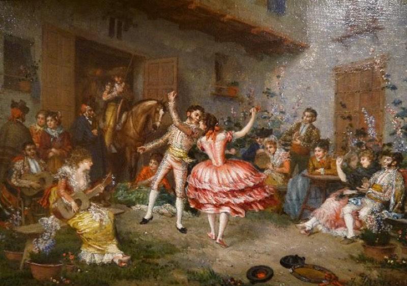 """""""Celebración"""" (1900), de José María Jardines"""