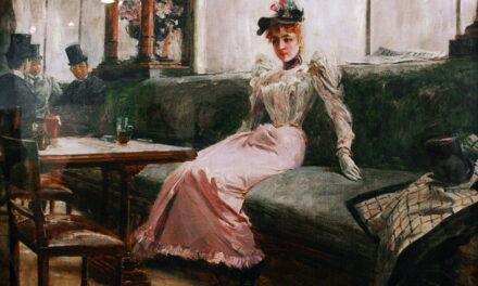 """""""La vida parisina"""" (1892), de Juan Luna Novicio"""