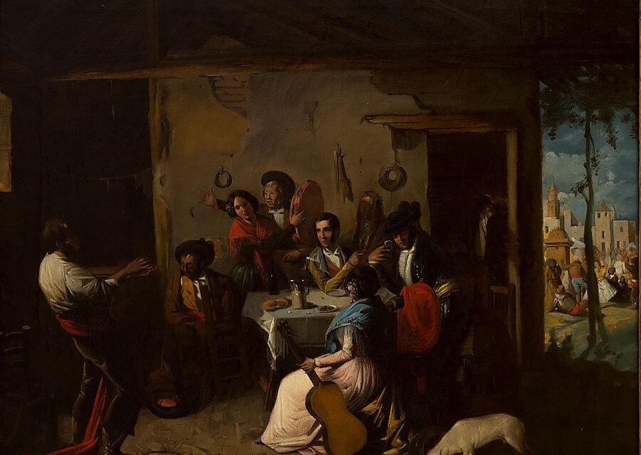 """""""Escena de venta"""" (1804), de Juan Rodríguez Jiménez"""
