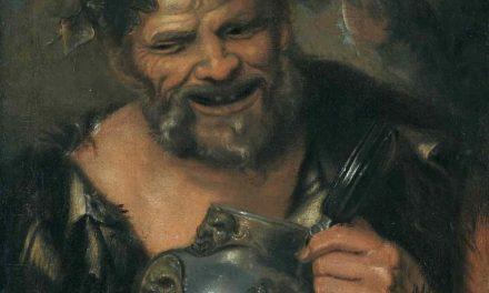 """Sileno ebrio"" (1626), de Jacob Jordaens"