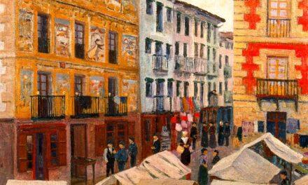 """""""Mercado de Villafranca de Oria"""" (1899), de Darío de Regoyos"""