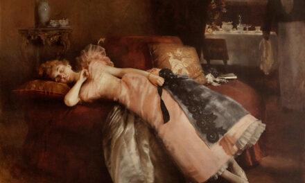 """""""La siesta"""" (1912), de Román Ribera Cirera"""