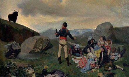 """Se Aguó la fiesta"" (1872), de Enrique Mélida"