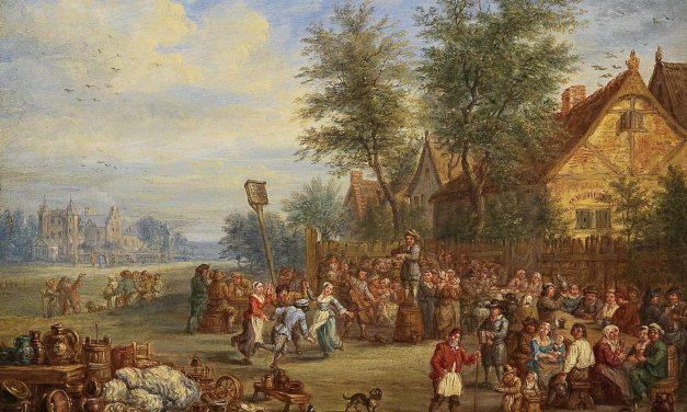 """Fiesta campestre"" (1712), de Theobald Michau"