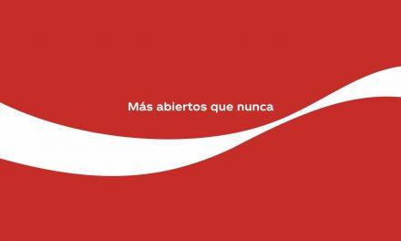 """Coca-Cola vuelve a aparecer en los medios con la campaña """"Más abiertos que nunca"""""""