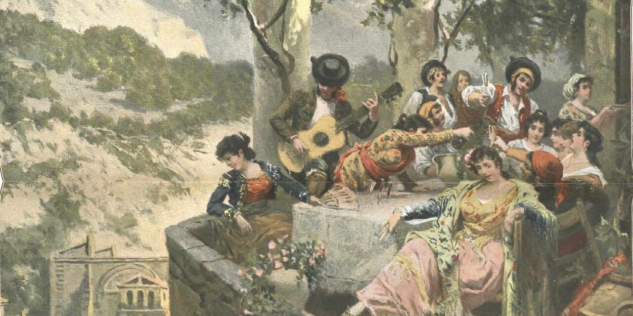 """Juerga en la terraza"" (1904), de Ramón Tusquets"