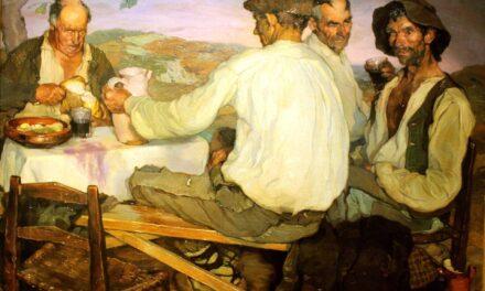 """""""Campesinos españoles"""" (1911), de Ignacio Zuloaga"""