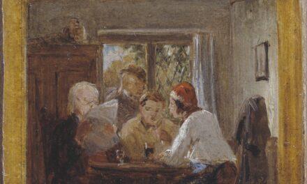 """""""Una carta de las colonias"""" (1852), de Thomas Webster"""
