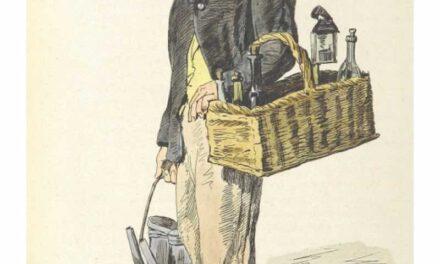 """""""Vendedor ambulante"""" (1858), de Filippo Palizzi"""