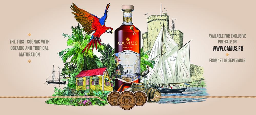 Camus revela Camus Caribbean Expedition Cognac
