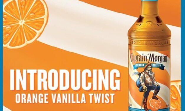 Captain Morgan debuta con Orange Vanilla Twist
