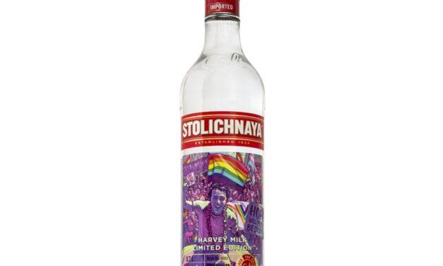 Stoli Vodka lanza una botella de edición limitada en apoyo a la comunidad LGBTQ